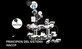 PRINCIPIOS DEL SISTEMA HACCP