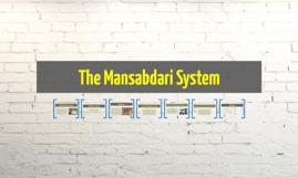 The Mansabdari System