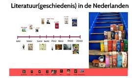 v6 Literatuur(geschiedenis) in de Nederlanden