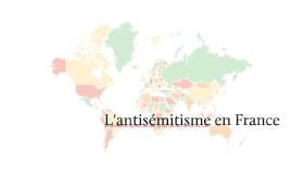 L'antisémitisme français