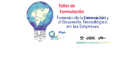 Taller de Formulación Operador SENA IDT Eje Cafetero Proceso II