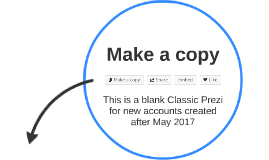Blank Prezi Classic Activation Template