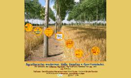 Agroflorestas modernas. Visão, desafios e Oportunidades.