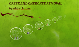 CREEK AND CHEROKEE REMOVAL PROJECT