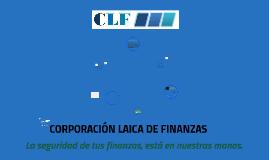 CORPORACIÒN LAICA DE FINANZAS