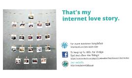 Internet love story Prezi template