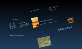 Copy of The Alchemist Presentation