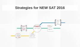 Strategies for NEW SAT 2016