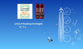 Civics 9 Reading Strategies