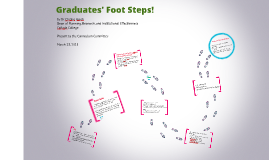 Graduates' Foot Steps