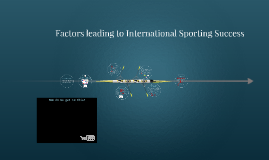 Factors Leading to International Sporting Success - Taster lecture