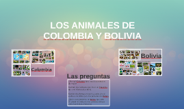 LOS ANIMALES DE