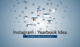 Instagram : Yearbook Idea