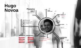 Spanish Prezume Hugo Novoa 2017