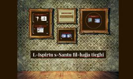 L-Ispirtu s-Santu fil-ħajja tiegħi