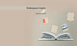 Shakespeare Inquiry