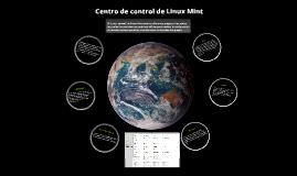Centro de control de Linux Mint