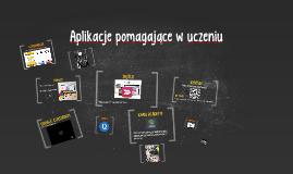 Aplikacje pomagające w uczeniu