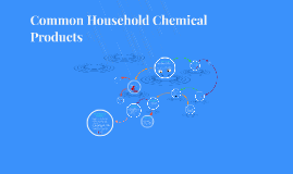 Copy of Common Household Chemical Product - Hairspray