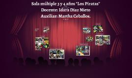 """Sala múltiple 3 y 4 años """"Los Piratas"""""""