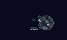 Module 1: consommer des biens et des services