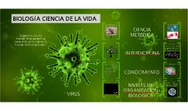 . BIOLOGIA 1. BLOQUE 1 BIOLOGÍA COMO CIENCIA DE LA VIDA