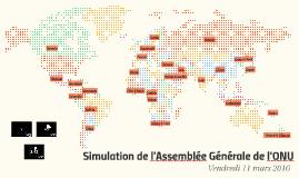 Simulation de l'Assemblée Générale de l'ONU