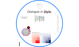 Dialogue in Stylo
