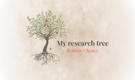 My research tree