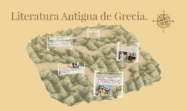 Copy of Literatura Antigua: Grecia.