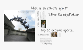 Copy of Why are countries such as New Zealand so popular for extreme sports?
