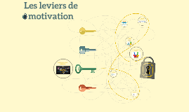 Les leviers de motivation