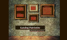 Katalog Patriotów