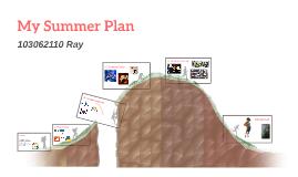 My Summer Plan
