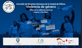 Presentación curso Violencia de género
