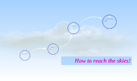 How to reach the skies!