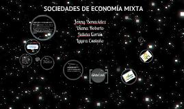 Copy of Sociedades de economía mixta