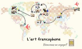 Copy of L´art francophone