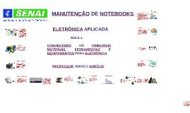 Cópia de AULA - 3 CONHECENDO OS PRINCIPAIS MATERIAIS, FERRAMENTAS E EQUIPAMENTOS PARA ELETRÔNICA
