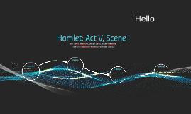 Hamlet: Act V, Scene i