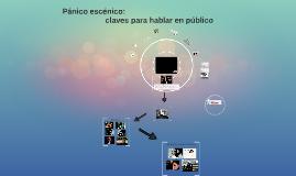 Copy of Miedo escénico: