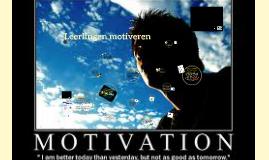 Copy of Leerlingen motiveren