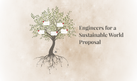 Engineers for a Sustainable World Proposal