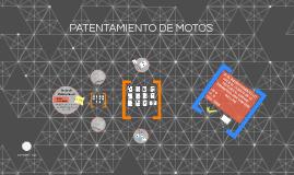 PATENTAMIENTO DE MOTOS
