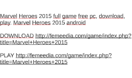 Marvel Heroes 2015 full game free pc, download, play. Marvel