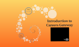 Introduction to Careers Gateway