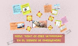 """POCUS """"POINT-OF-CARE ULTRASOUND"""" EN EL SERVICIO DE EMERGENC"""