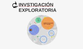 INVSTIGACIÓN EXPLORATORIA