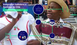 Inmigración haitaiana a Santiago de Chile