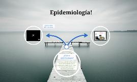 Epidemiología!